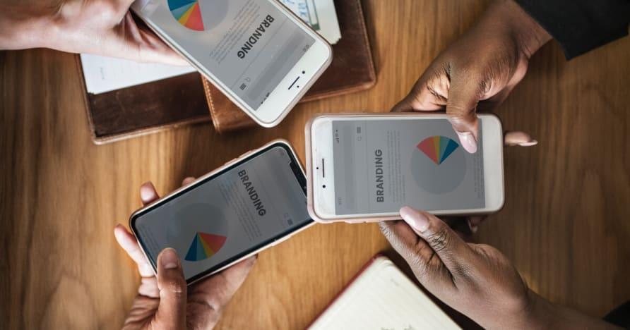 Popularität Zunahme der Mobile Gaming