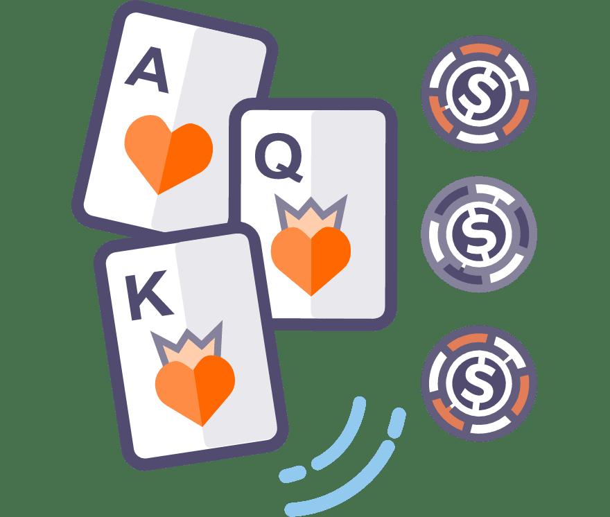 51 Beste Three Card Poker Mobil Casinos im Jahr 2021
